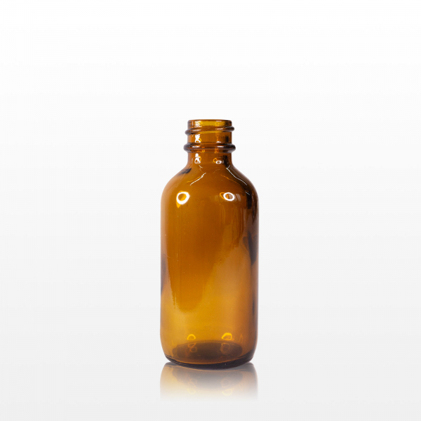 Spray flacon sticla ambra cu capac negru - 60 ml 1