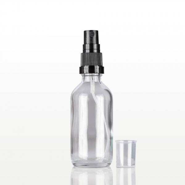 Spray flacon sticla cu capac negru - 60 ml 1