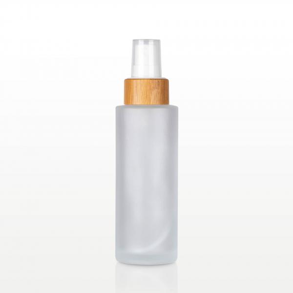 Spray flacon sticla mat capac bambus - 100 ml 0