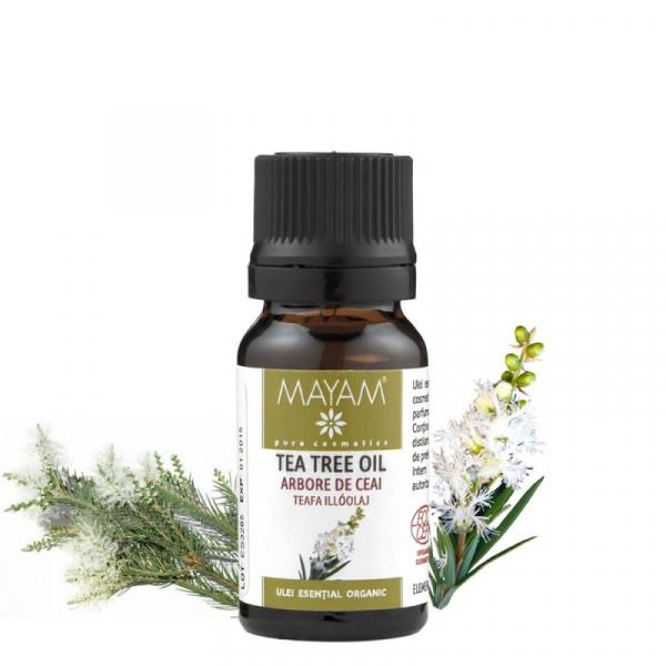 Mayam Tea Tree Bio, Ecocert / Cosmos - 10 ml 0