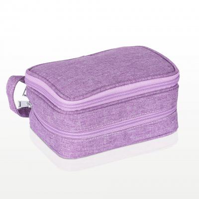 Borseta Violet 10 sticlute si loc suplimentar [1]