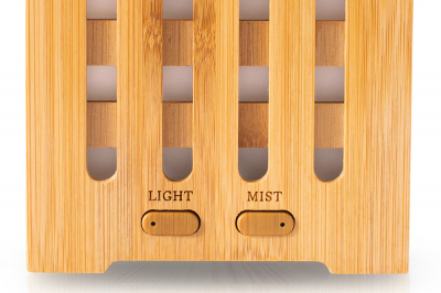 Difuzor de aromaterapie din bambus - Cube1