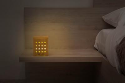 Difuzor de aromaterapie din bambus - Cube3