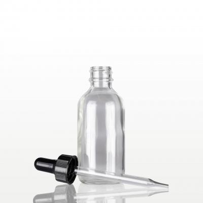 Flacon sticla cu pipeta neagra - 60 ml1