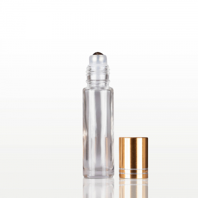 Roll-on sticla cu capac auriu - 10 ml [1]