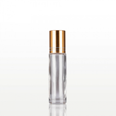 Roll-on sticla cu capac auriu - 10 ml [0]