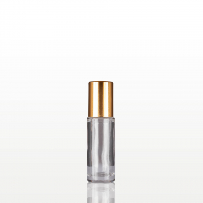 Roll-on sticla cu capac auriu - 5 ml0