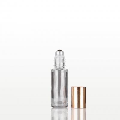 Roll-on sticla cu capac auriu - 5 ml1