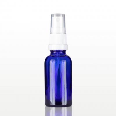 Spray flacon sticla albastra cu capac alb - 30 ml0