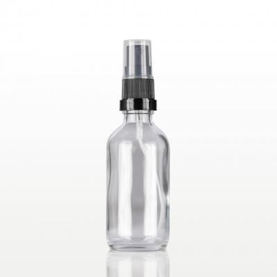 Spray flacon sticla cu capac negru - 60 ml0