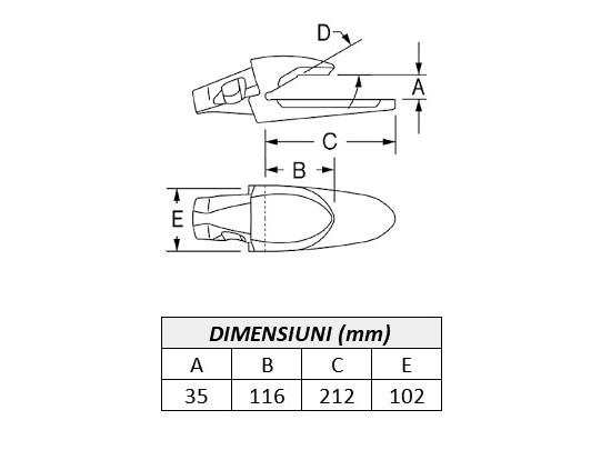 Adaptor Ultralok 3881BU30-ESCO 2