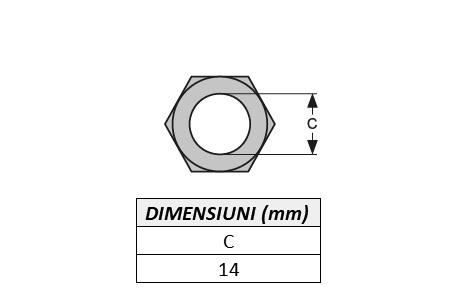 Piulita prindere dinte miniexcavator E603N-ITR [1]