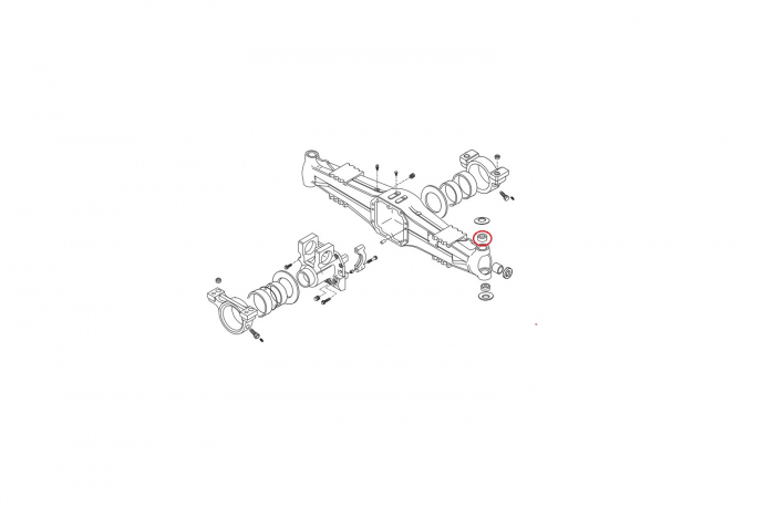 Bucsa pivot superior 045166-CARRARO 1