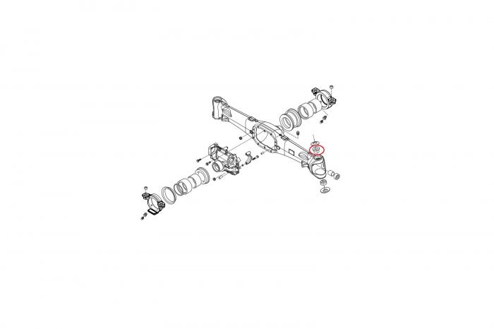 Bucsa pivot superior 045167-CARRARO 1