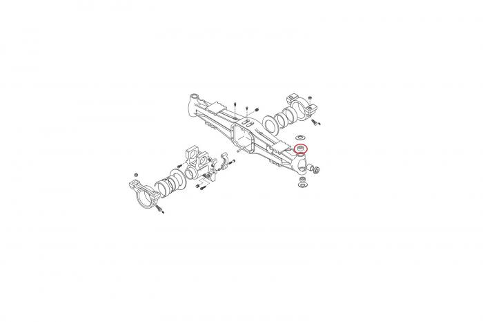 Bucsa pivot superior 045168-CARRARO 1