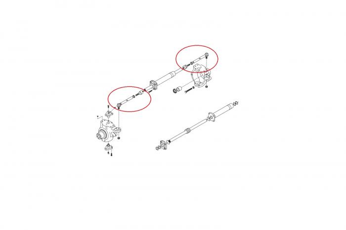 Capat de bara complet buldoexcavator Volvo-CARRARO [1]