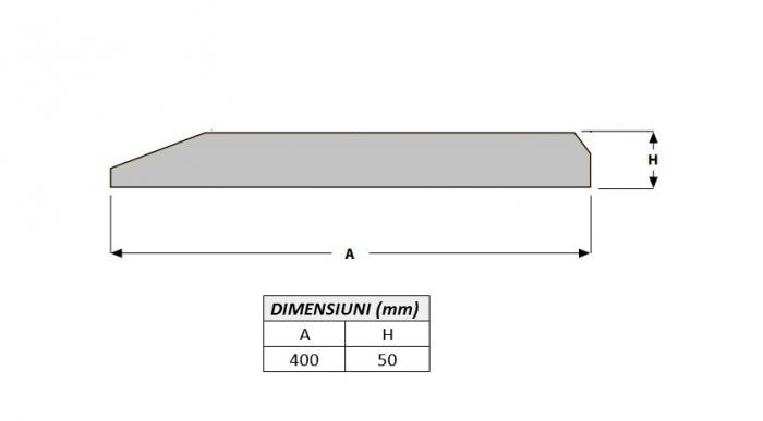 Cutit brut 400X50X1000-AROX [1]