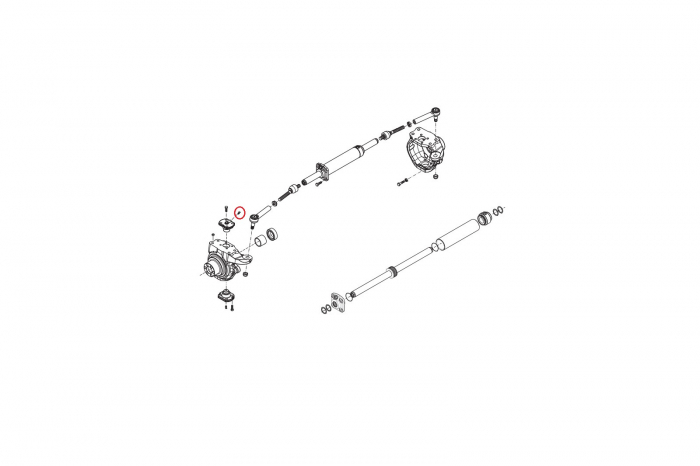 Gresor pivot buldoexcavator Komatsu-CARRARO [1]