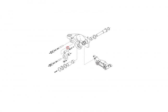 Inel buldoexcavator Volvo-CARRARO 1