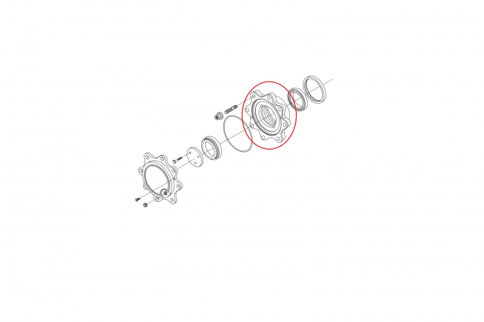 Kit butuc roata 064086-CARRARO [1]