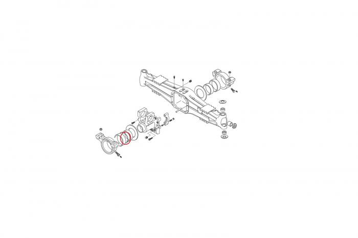 O-ring buldoexcavator New Holland-CARRARO 1