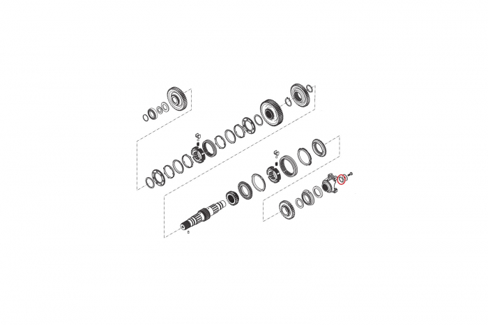 O-ring buldoexcavator New Holland-CARRARO [1]
