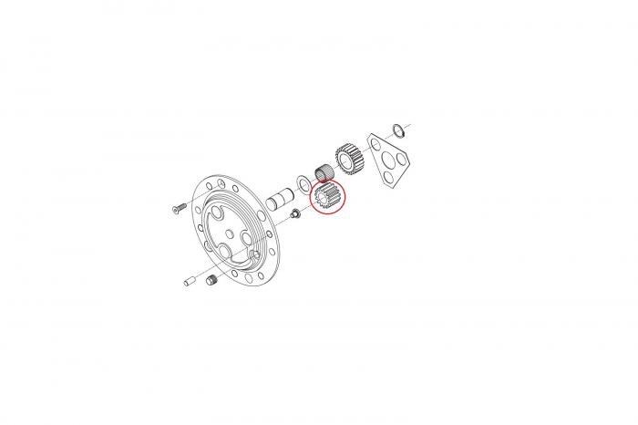 Pinion planetar 115644-CARRARO [1]