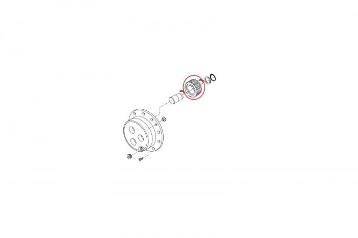 Pinion satelit buldoexcavator Komatsu-CARRARO 1