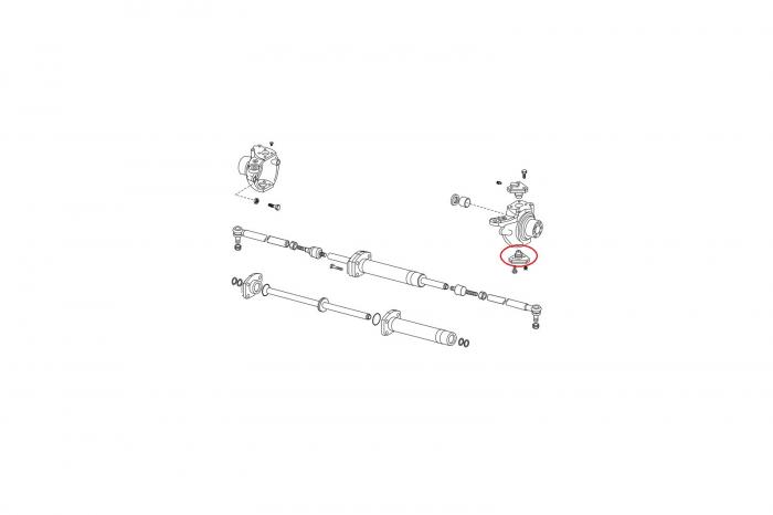 Pivot inferior buldoexcavator Komatsu-CARRARO [1]