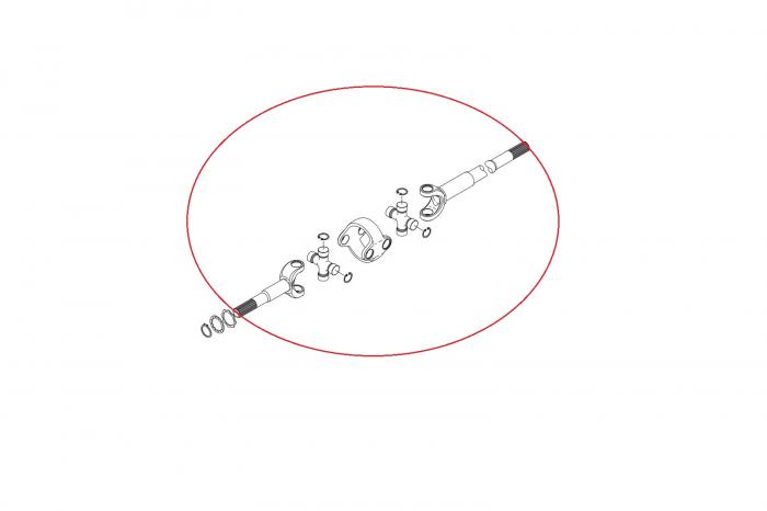 Planetara completa buldoexcavator New Holland 138071-CARRARO 1
