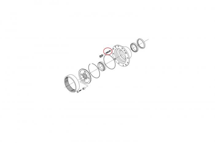 Prezon buldoexcavator Komatsu-CARRARO [1]