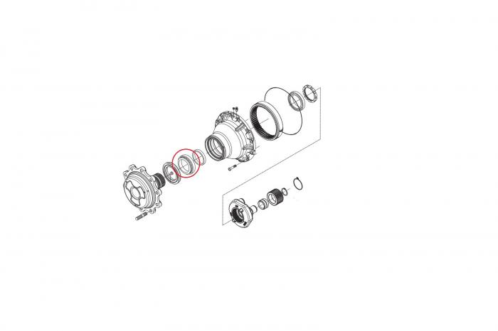 Rulment butuc 045180-CARRARO 1