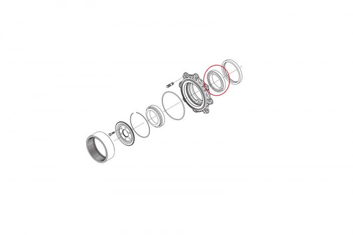 Rulment butuc 045182-CARRARO [1]
