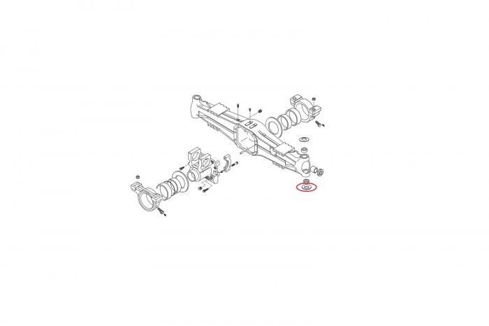 Saiba buldoexcavator Volvo-CARRARO 1
