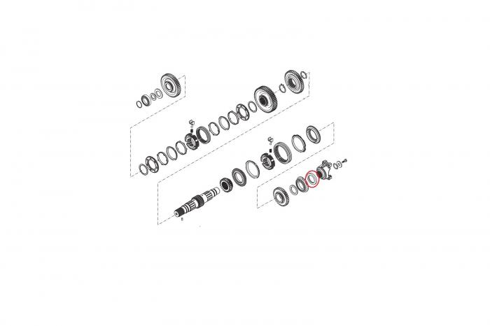 Simering flansa cardan 025485-CARRARO [1]