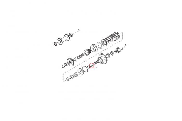 Simering buldoexcavator Komatsu-CARRARO [1]