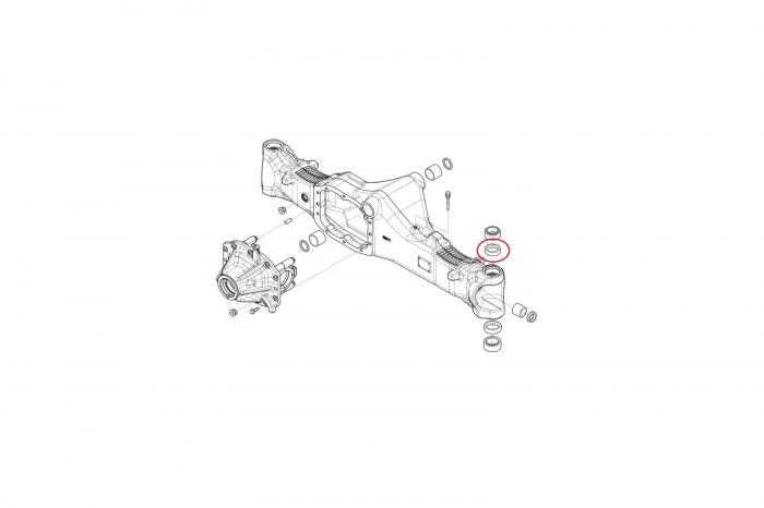 Simering 141876-CARRARO 1