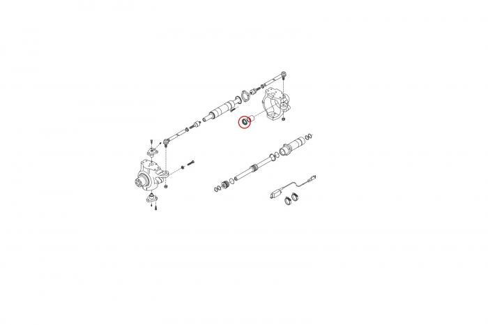 Simering planetara buldoexcavator Volvo-CARRARO [1]