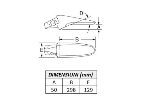 Adaptor Ultralok 3892U40-ESCO2
