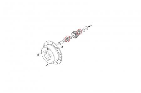 Ace rulment buldoexcavator Volvo-CARRARO [1]