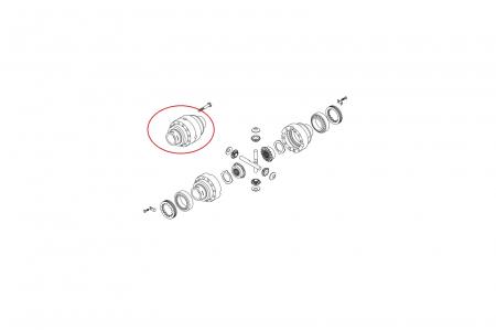 Carcasa diferential 137972-CARRARO [1]