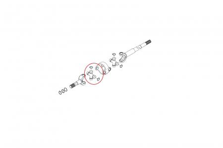 Cruce planetara buldoexcavator Komatsu-CARRARO [1]