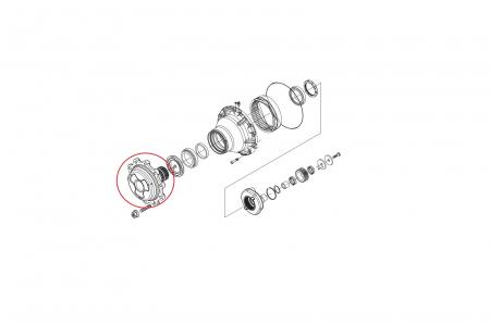 Flansa buldoexcavator Volvo-CARRARO1