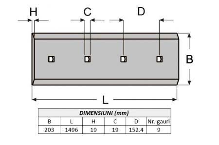 Lama de uzura 1774550-ITR1