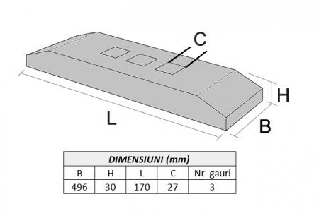 Lama de uzura 4T8101-AROX1