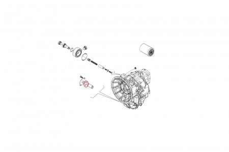 O-ring buldoexcavator Volvo-CARRARO [1]