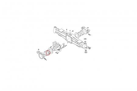 O-ring buldoexcavator New Holland-CARRARO1