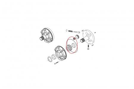 O-ring buldoexcavator Komatsu-CARRARO1