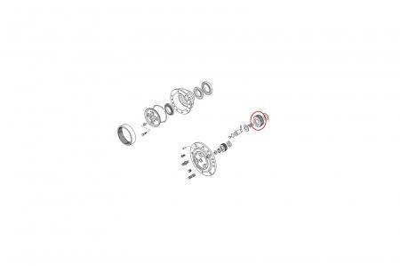 Pinion planetar 115643-CARRARO1