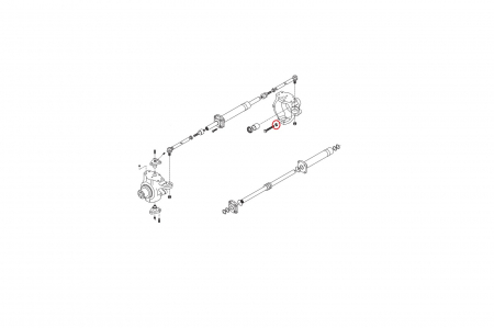 Piulita M16 buldoexcavator Komatsu-CARRARO [1]